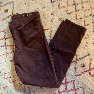 Gap real straight corduroy pants (32 regular)